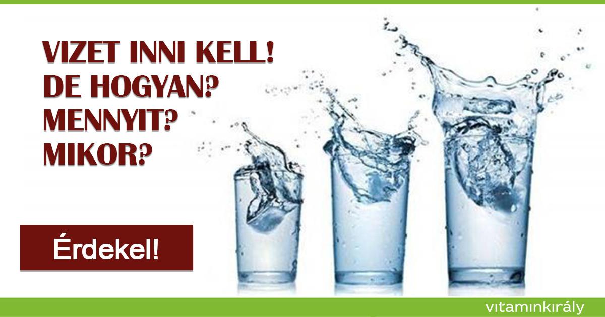 merevítés inni vizet amit éreznek az emeléskor