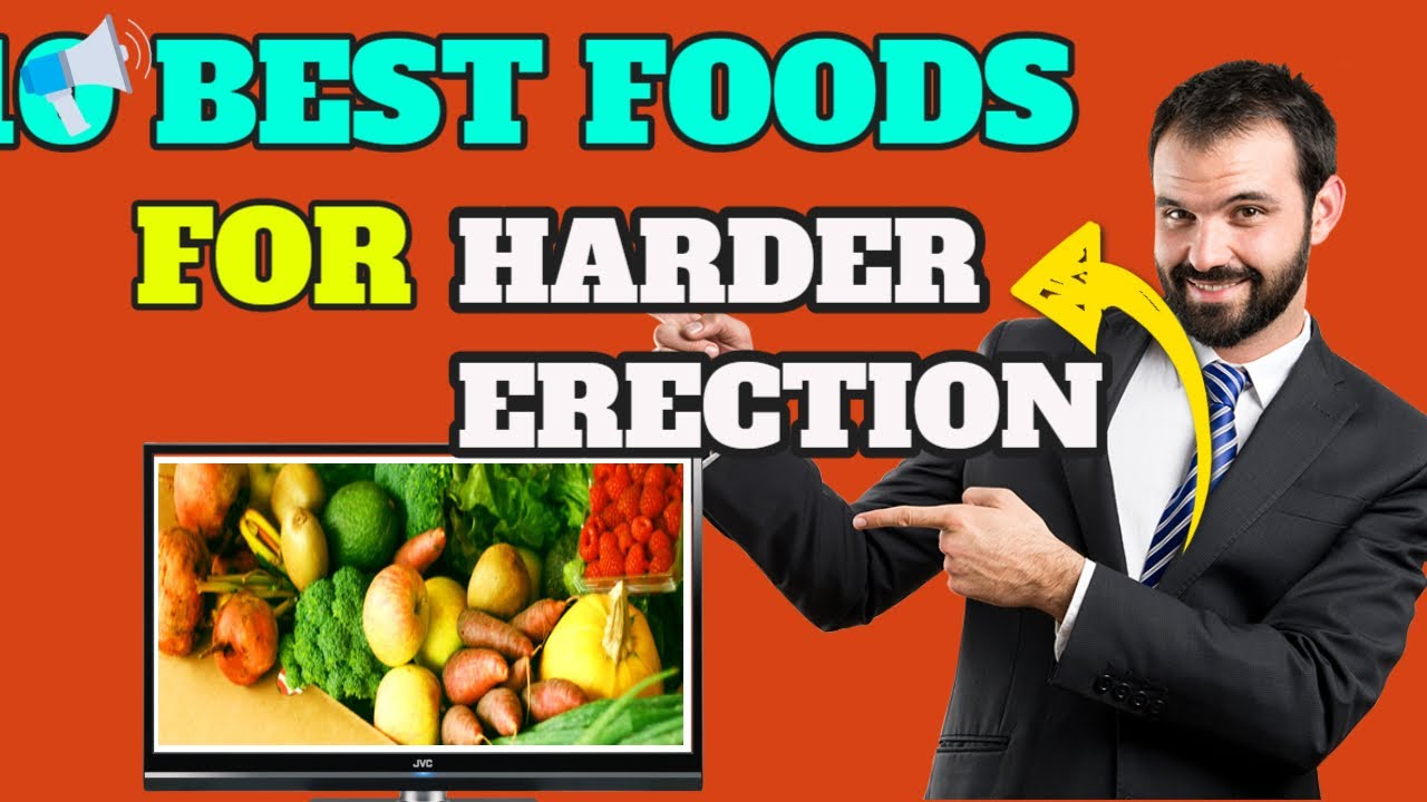 az erekciót javító étel