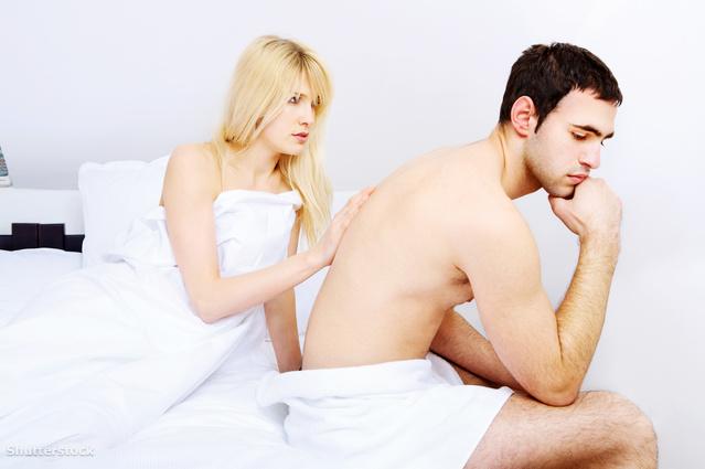 Egy lánynál fekszem, nincs erekciója