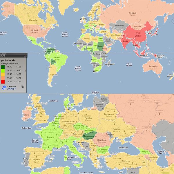 Péniszméret a világ körül: melyik ország fiainak a legnagyobb?